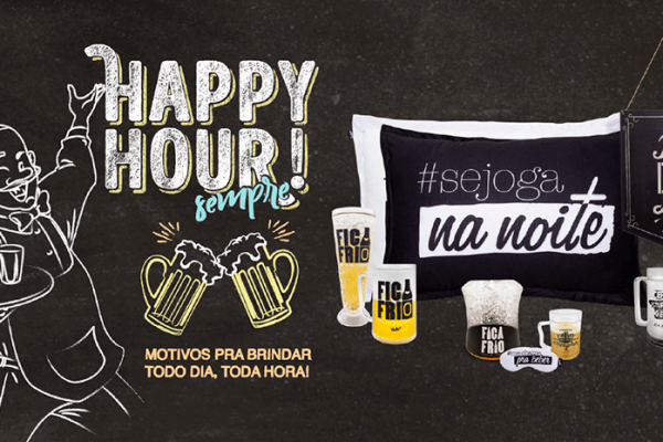 Ações de venda de Happy Hour