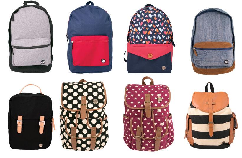 atacado de mochilas para colocar na vitrine de volta às aulas