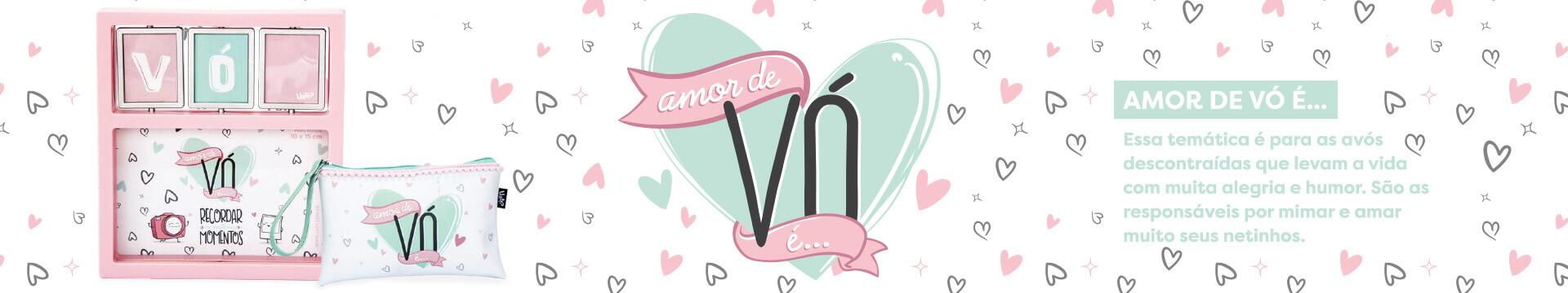 Coleção Amor de vó - presentes para o dia das mães