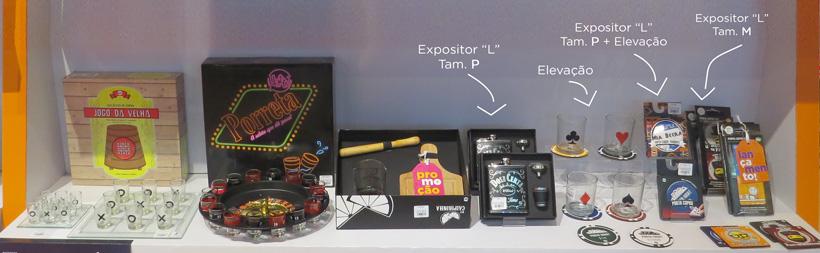 a importância dos expositores de produtos em sua loja