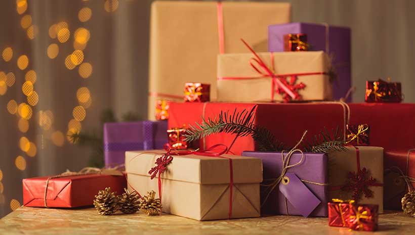 ações de vendas de Natal