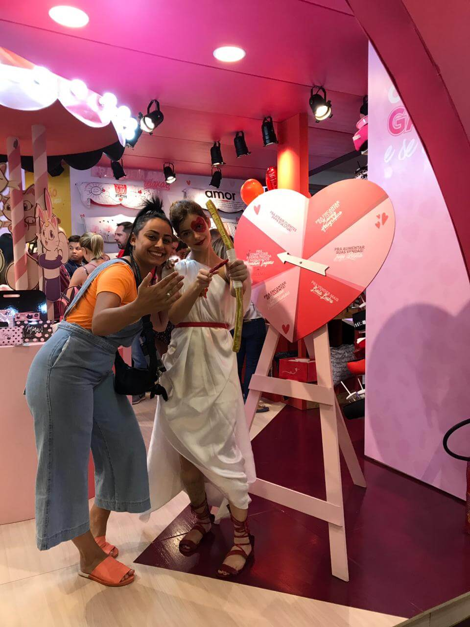 Cupido no estande da Uatt? na ABCasa Fair 2019