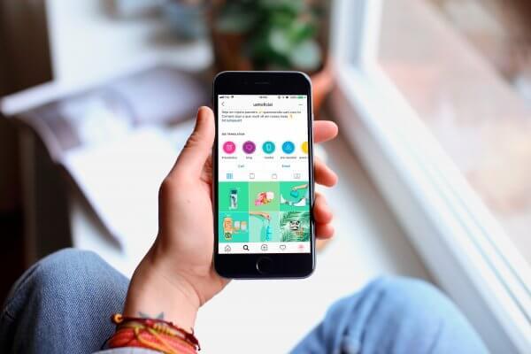 Gestão de redes sociais para lojas de produtos naturais