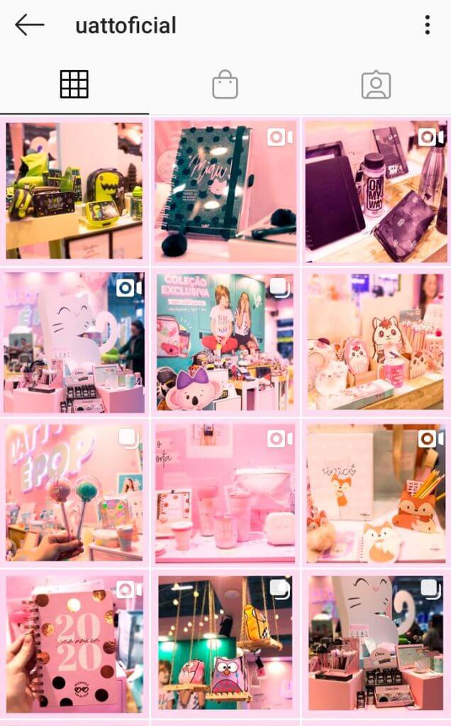 Combinações lucrativas no instagram