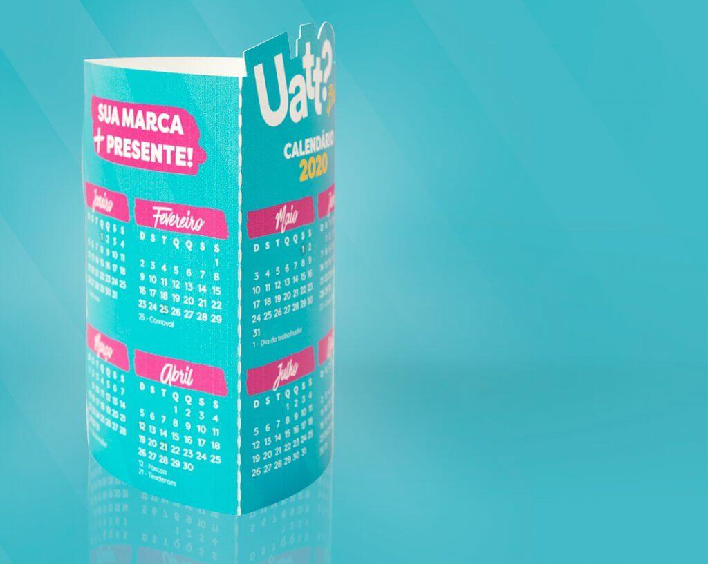 Brindes - Calendário 2020